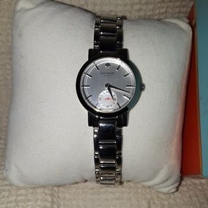 Kate Spade Live colorfully Silver watch